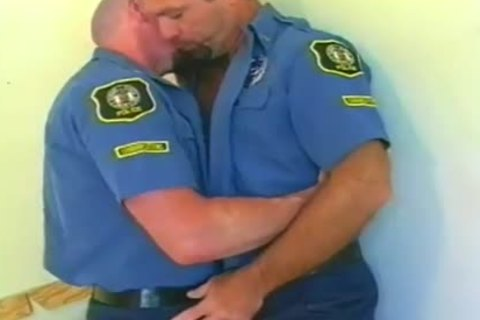 steel Hard gay Bear Police daddies hole hammerling jizz Session