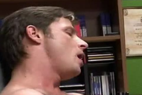 Ben Archer, DADDY's office dream take up with the tongue engulf kiss daddy hammer