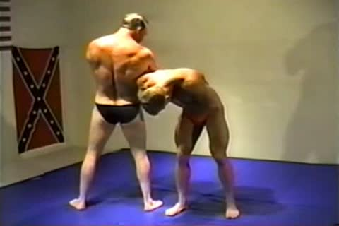 CAL WRESTLING - fatheR VS SON  dirty DAVE dicky VS SCOTT POPE