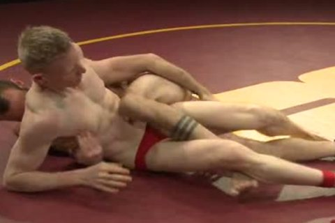 homosexuals Wrestling And slaming After Match