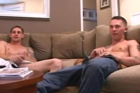 Buddies jerk off Session Leads To Penetration
