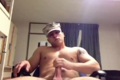 Military Marine Muscle jerk offs It