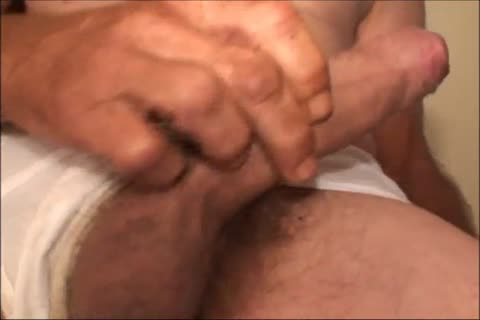 Just A scarcely any Minutes Of A video I Have, An old unsightly man Shows His cute throbbing Uncut messy penis And messy wazoo