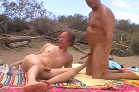 When The Sun Burns Down In The Dunes Of Maspalomas, We Usually get yummy, No Matter If Anyone Is Around Or Passing By. I Love To Feel My Husbands wang In My Hungry butt When this man Breeds Me. So I cant assist But Shooting My Load When His large joc