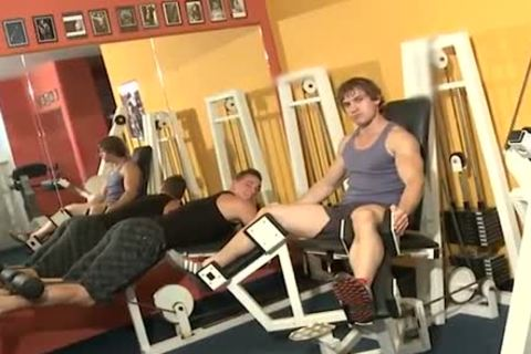 Workout dicks bang Inside A Gym