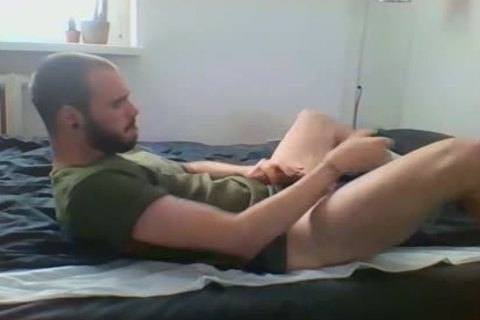 Me Getting lustful With Military Sneakers And White Socks, Wearing My Sweaty Army T Shirt That Smells Very Manly