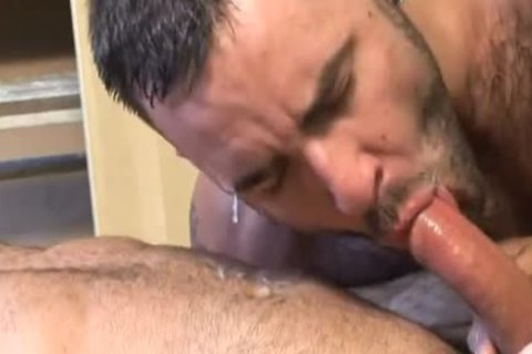 wild, hairy Muscle Sex