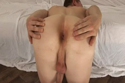 Anton Malac acquires butt Stretched With A dildo
