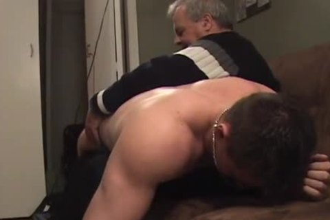 Hunk With Bubble pooper acquires A spanking