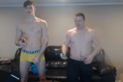two dirty Bi boyz Have pleasure And Have together A tight Shower