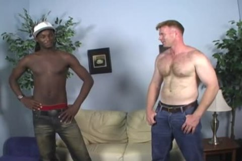 Dakota Has Some Manly fun With A black twink
