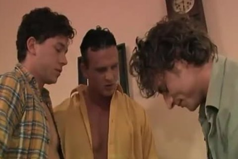 these sexy Blokes Hook Up For Some 3some Action.
