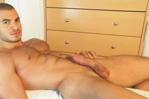 My straight Neighbour Made A Porn: Watch His monstrous shlong Serviced By A lad!
