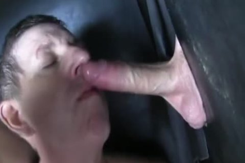 Super monstrous Uncut dong str8 Aussie Max get's Sucked Off At The Gloryhole.