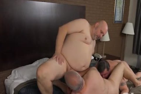drilling His Blistering fat Bumhole