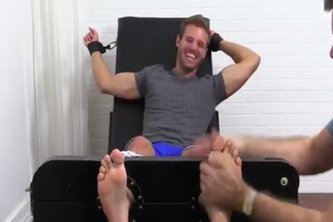 Hunky Dane Getting Tickled In The Chair
