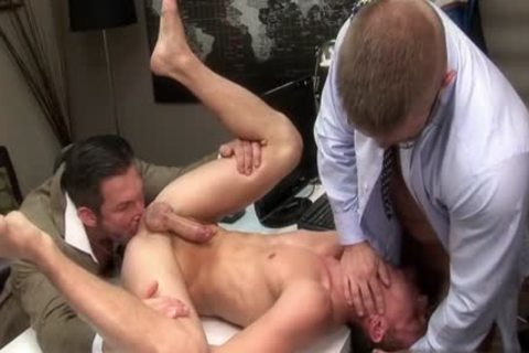 monstrous wang gay 3some With Facial