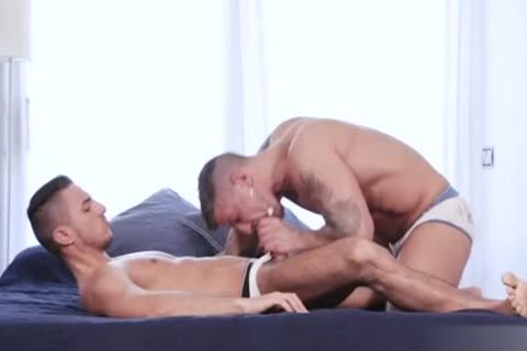 large cock Son Flip Flop With Facial