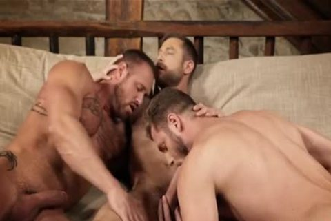 pumped up threesome unprotected And Creampie