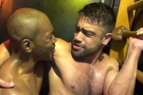 Intense Sweaty Interracial raw Fucksex