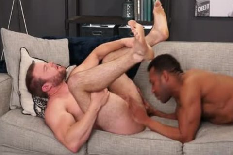 Muscle gay Flip Flop With ball batter flow