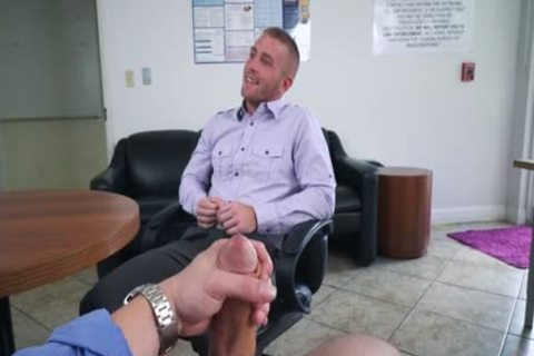 Muscle homosexual oral-stimulation job And Facial