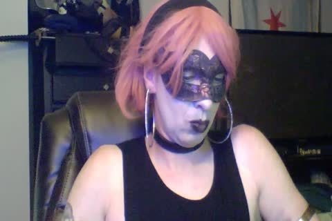 slutty Dancing Goth CD cam Show (part two Of two)