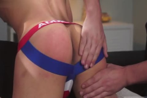 Latin twinks spanking With Facial spooge