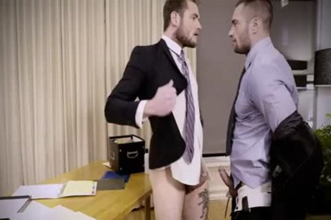 Tattoo gay anal invasion And Creampie