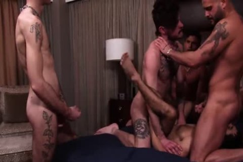 Ty Mitchell group-sex