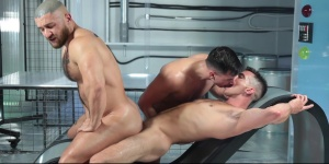 ass Abduction - Francois Sagat and Lukas Daken gigantic booty Sex