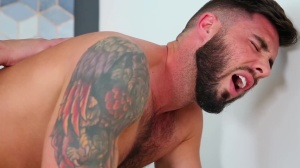 The Package - Damien Stone & Blaze Burton Masturbation screw