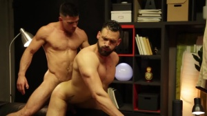 HomoPod - Paddy O'Brian with Enzo Rimenez butt Licking Hump