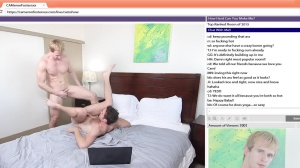 The Chat Room - Cameron Foster with Brandon Moore ass Nail