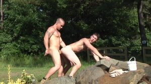 The Hunt - Paul Canon & Adam Bryant anal Hook up