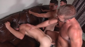 Stepfather's Secret - Dirk Caber and Johnny Rapid butt Hump