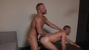Daddy Hunt - Dirk Caber with Jimmy Fanz pooper Nail