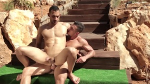 males In Ibiza - Paddy O'Brian with Juan Lopez butthole Love