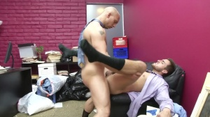 Law And Hoarder - John Magnum and Bryce Star ass stab