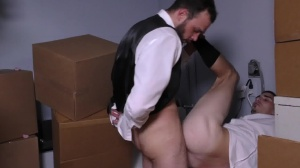 Runaway Groom - Cliff Jensen and Damien Kyle butthole invasion