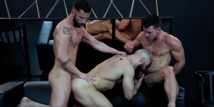 Dream Fucker - Francois Sagat with Paddy O'Brian ass job