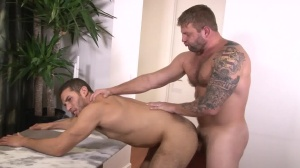 Straight fellow homo Porn - Colby Jansen and Ricky Decker anal Love