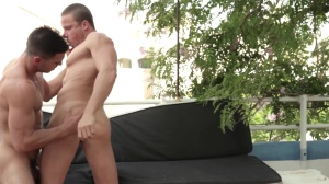 men In Ibiza - Paddy O'Brian & Tony Gys ass nail