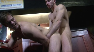 Cruising clip 4 - Gabriel Clark with Leo Domenico anal bang