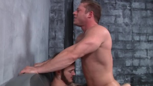 First Time Bottom - Christian Wilde with Joey Carter anal nail