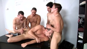 Blackboard Outline - Johnny Rapid and Devin Adams butthole nail