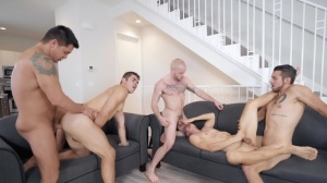 The Longest Erection Of My Life - Dante Colle & Colton Grey ass plow