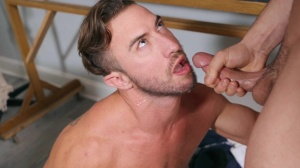 Projecting dick - Johnny Rapid with Grant Ryan anal fuck