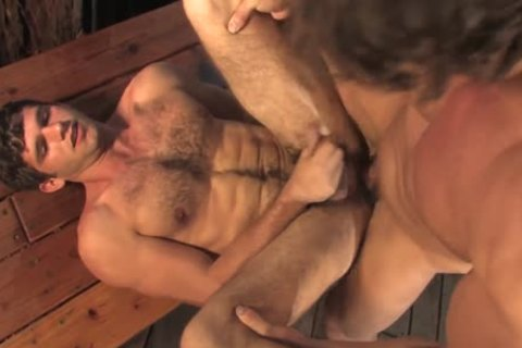 Zeb Atlas - pokes Jimmy Franz In Outdoor Shower