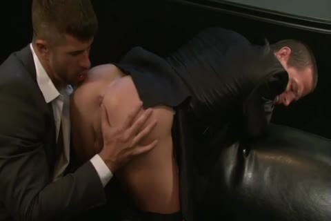 Adam Killian Takes Off His Suit To fuck A Hunk